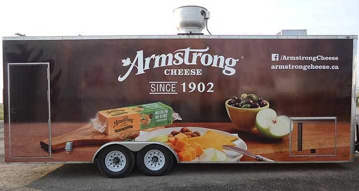 Armstrong Trailer Wrap