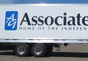 Associated Grocers Trailer Decals