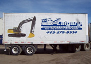 Calgary Aggregate Trailer Decals