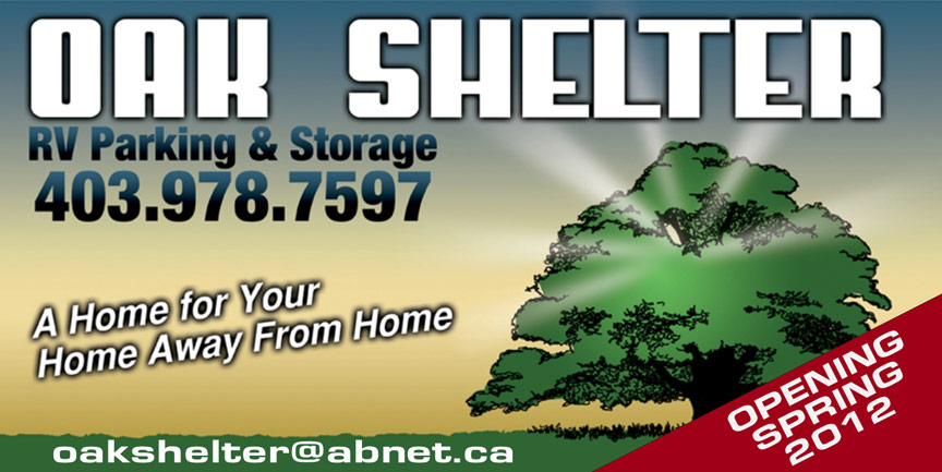 Oak Shelter Sign