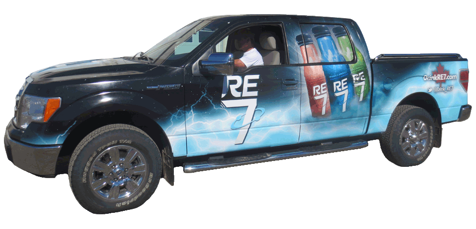 Pick Up Truck Wrap